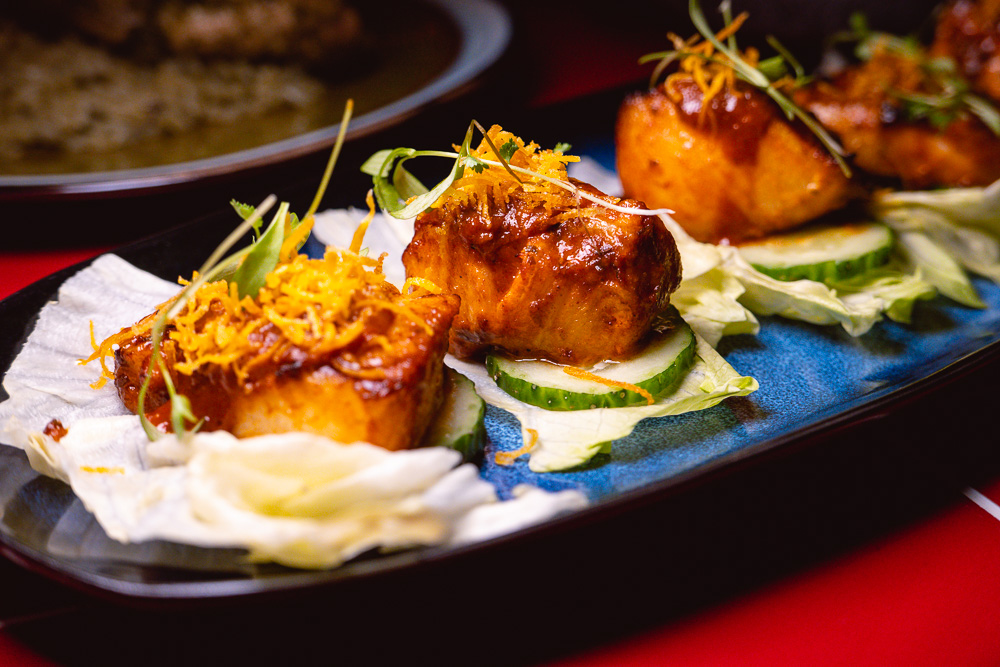 Latin American food with an Asian twist at Havana Chino Latino, a massive restaurant/bar/lounge on Donghu Lu. Photo by Rachel Gouk.