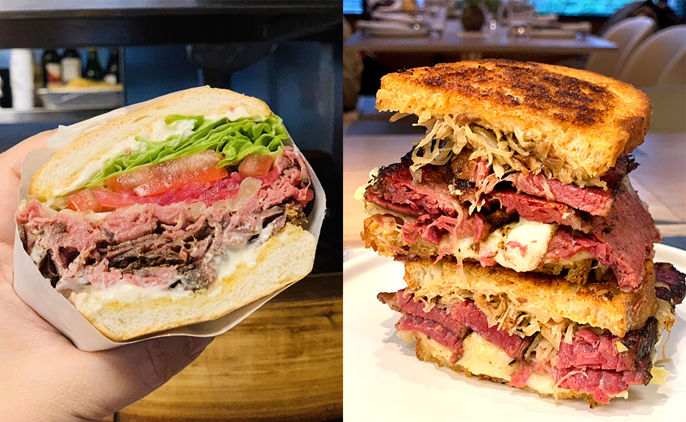 Where to eat sandwiches in Shanghai—American sandwiches at Heritage by Madison.