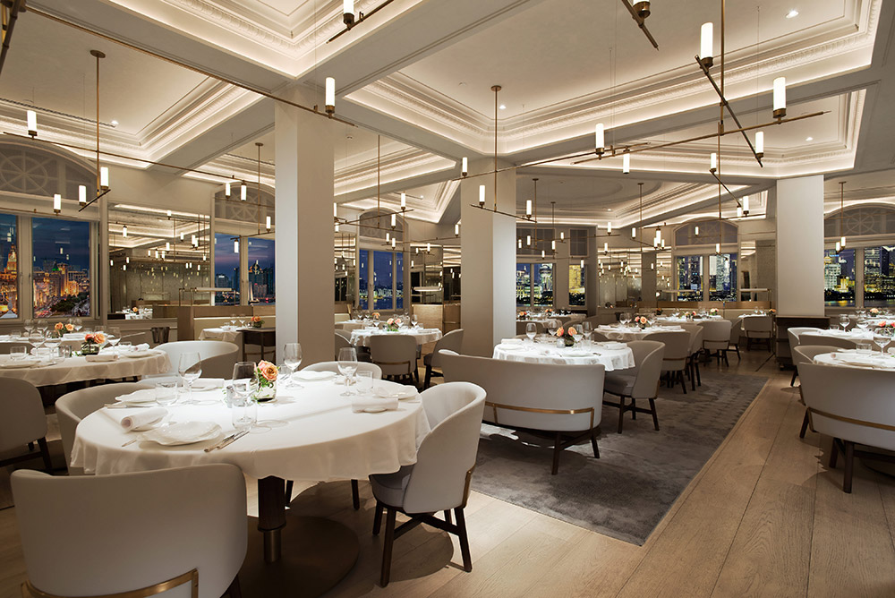 Best restaurants on the Bund, Shanghai - French fine dining at Jean Georges, Michelin one-star. Photo by Rachel Gouk.