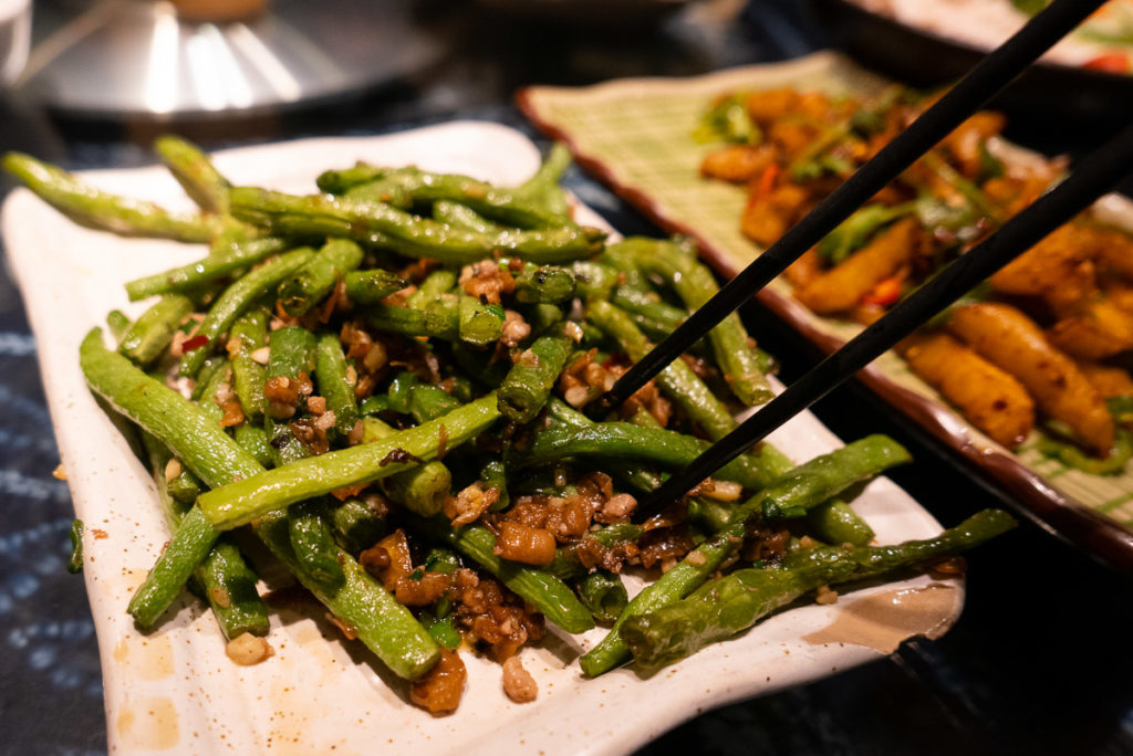Yunnan cuisine at Lotus Eatery, a popular restaurant in Shanghai. Photo by Rachel Gouk @ Nomfluence.