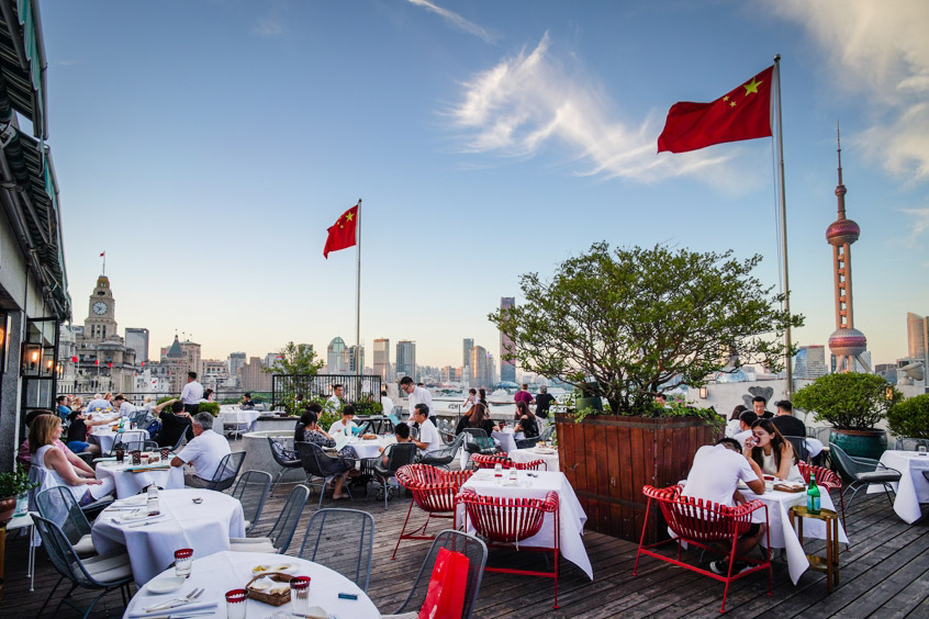 Best restaurants in Shanghai on the Bund - M on the Bund, a Shanghai institution. Photo by Rachel Gouk.
