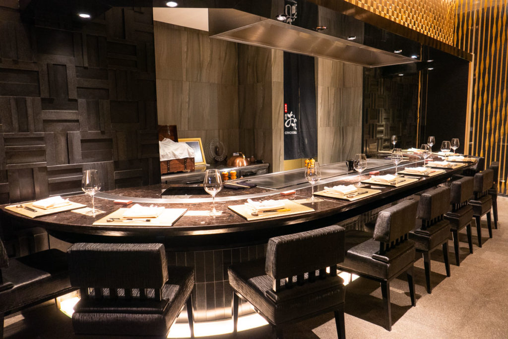 Best restaurants in Shanghai on the Bund - High-end Japanese restaurant Ginza Onodera. Photo by Rachel Gouk.