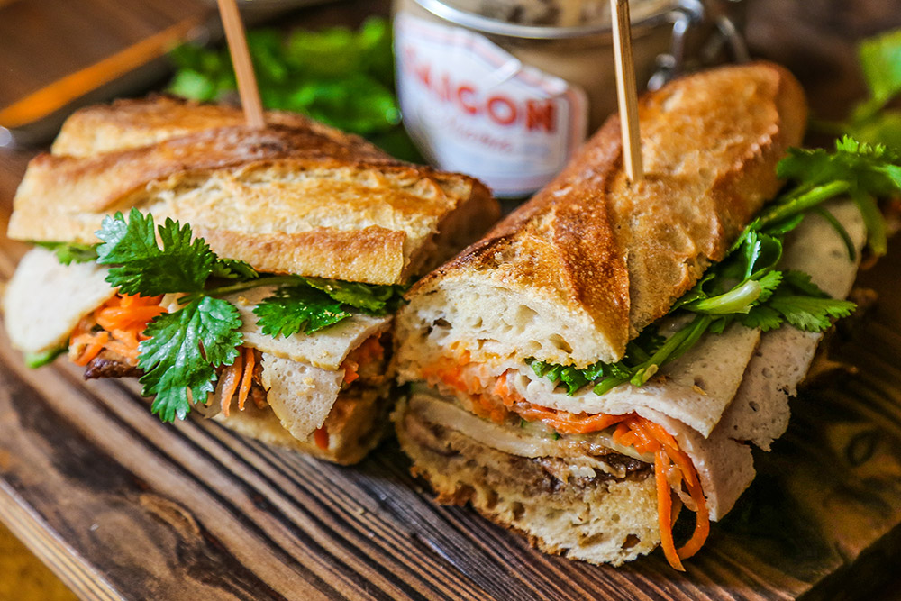 Where to eat sandwiches in Shanghai—bahn mi at Saigon Mama.