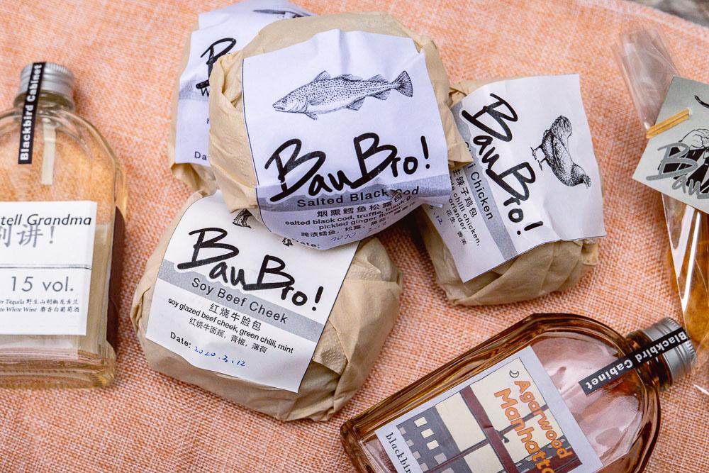 Bau Bros, a new bao sub-brand under OHA Eatery, a restaurant in Shanghai. Photo by Rachel Gouk @ Nomfluence.