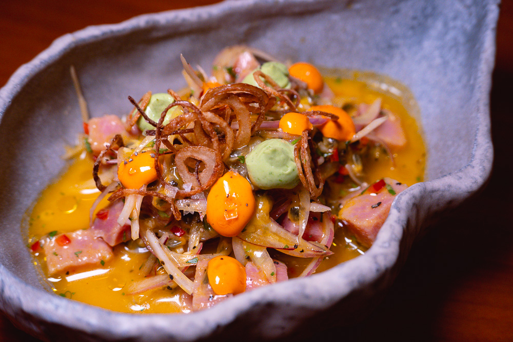 Ceviche at Colca, Peruvian restaurant's second location at North Bund, Hongkou, Shanghai. Photo by Rachel Gouk @ Nomfluence.