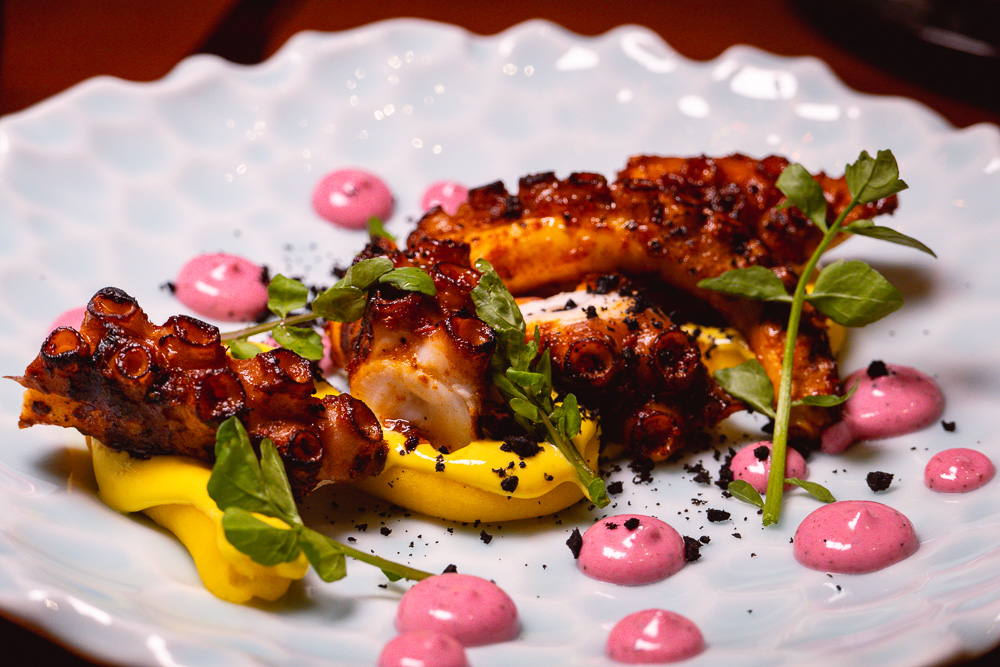 Josper-grilled octopus at Colca, Peruvian restaurant's second location at North Bund, Hongkou, Shanghai. Photo by Rachel Gouk @ Nomfluence.