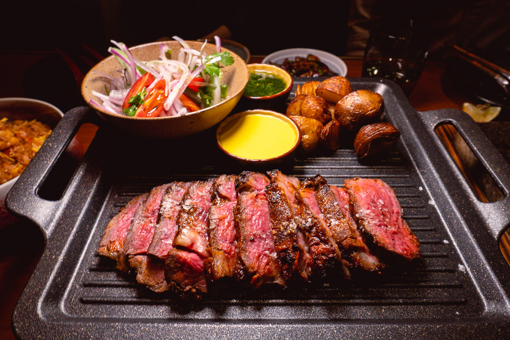 Steaks at Colca, Peruvian restaurant's second location at North Bund, Hongkou, Shanghai. Photo by Rachel Gouk @ Nomfluence.