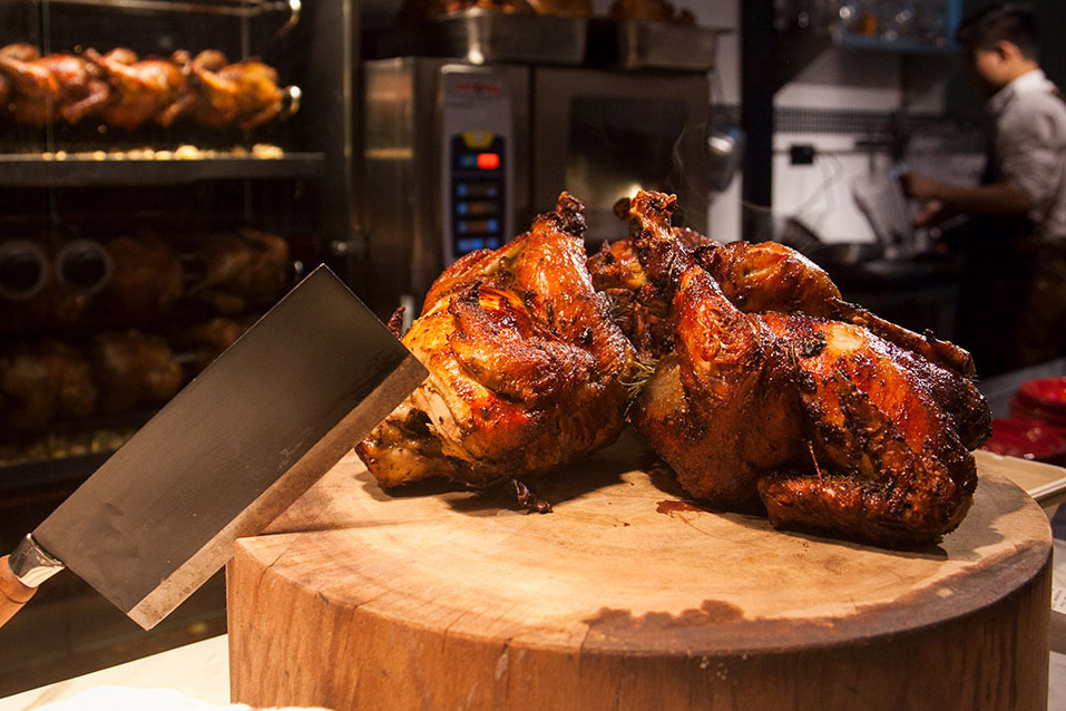 The Best Rotisserie Chicken in Shanghai. Photo by Rachel Gouk @ Nomfluence