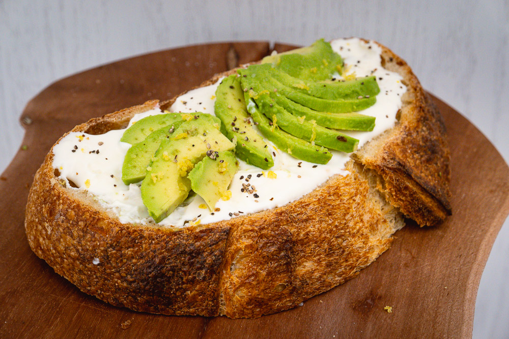 3 recipes with fromage blanc: Breakfast Toast. Photo by Rachel Gouk @ Nomfluence.