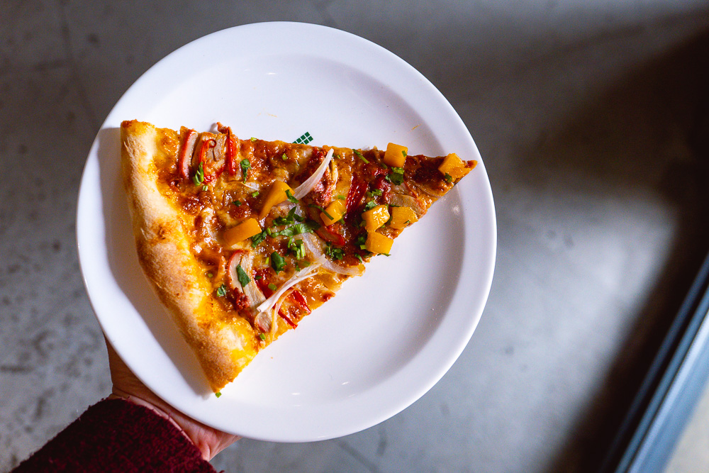 Best pizzas in Shanghai - Homeslice for New York-style pizzas. Photo by Rachel Gouk @ Nomfluence.
