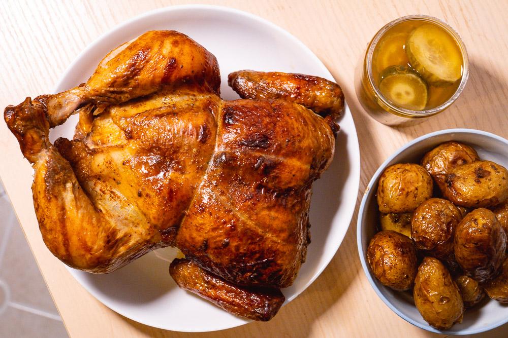 Where to get the best rotisserie chicken in Shanghai: Hot Chick. Photo by Rachel Gouk @ Nomfluence.