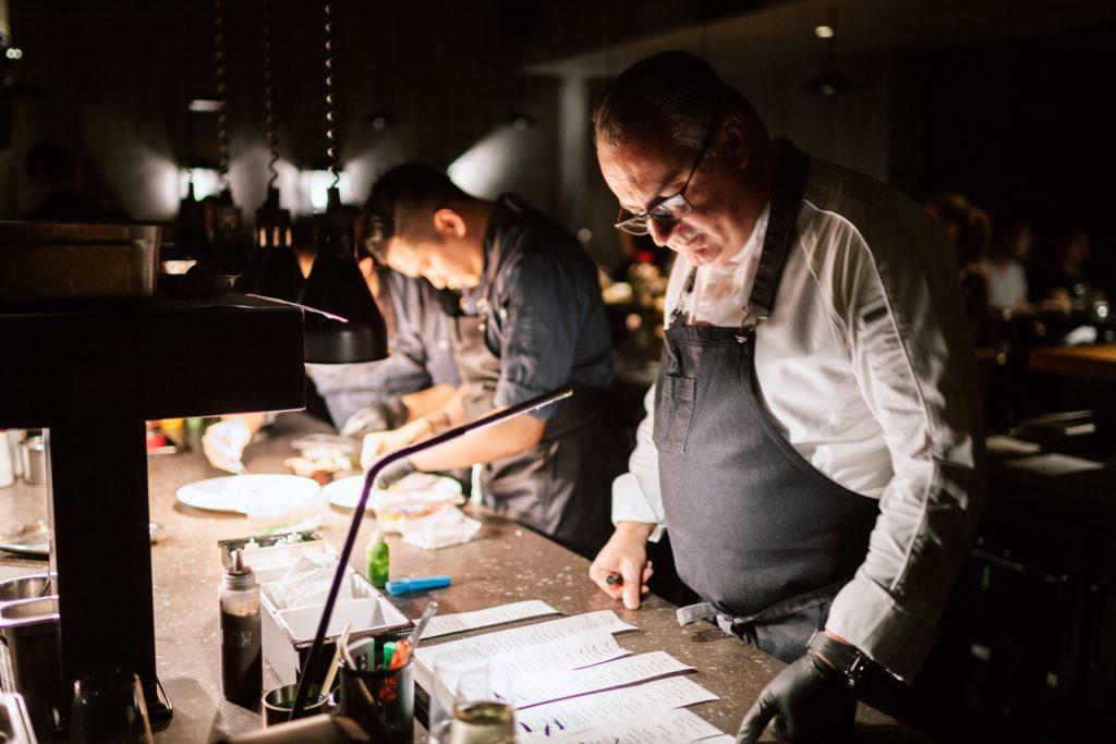 Stefan Stiller, chef/patron of Taian Table, Michelin two-star restaurant in Shanghai.