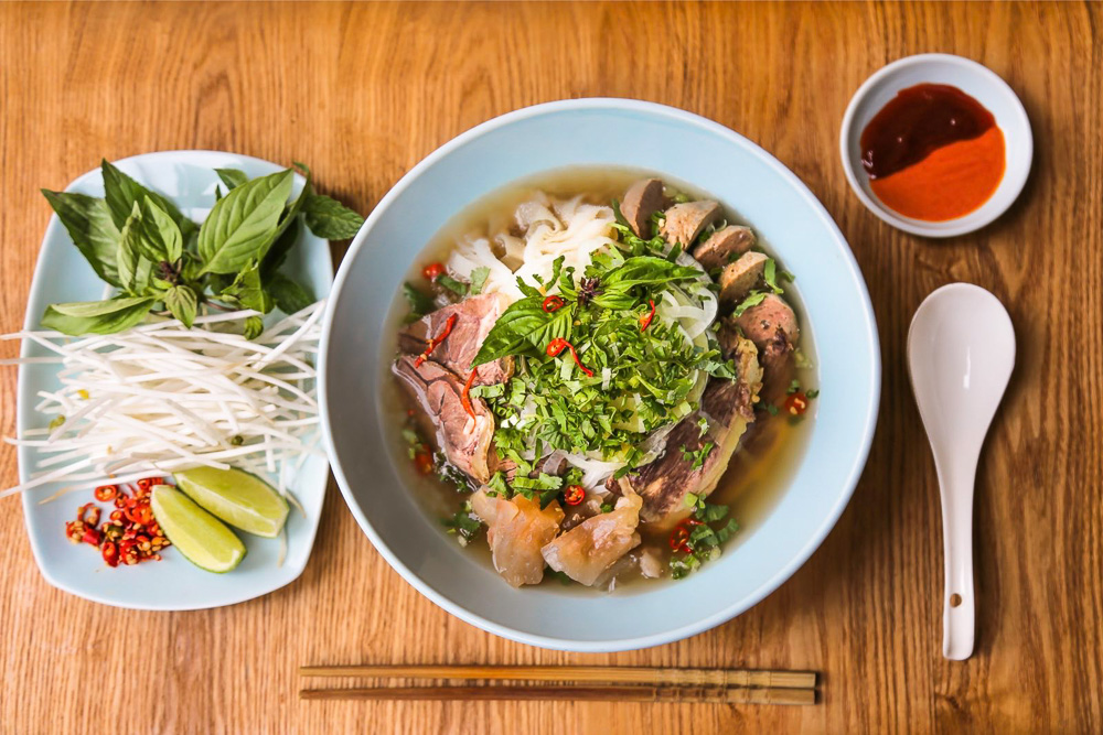 Food delivery options in Shanghai. Restaurants delivering comfort foods: Pho from Saigon Mama. Photo by Rachel Gouk @ Nomfluence.