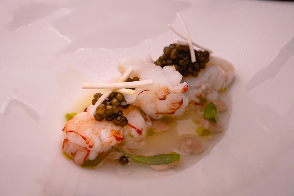 New Zealand scampi at Taian Table, Michelin two-star restaurant in Shanghai. Photo by Rachel Gouk @ Nomfluence.