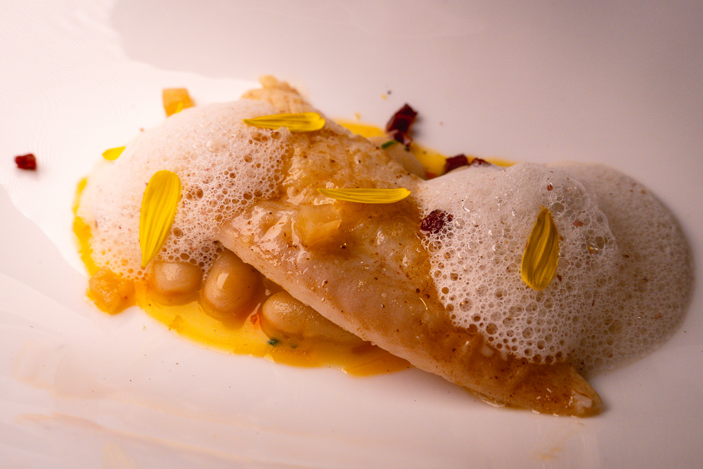 Dover sole at Taian Table, Michelin two-star restaurant in Shanghai. Photo by Rachel Gouk @ Nomfluence.