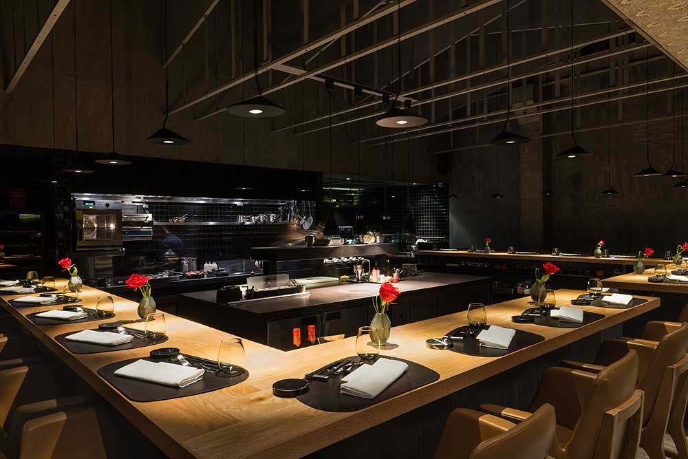 Taian Table, Michelin two-star restaurant in Shanghai.