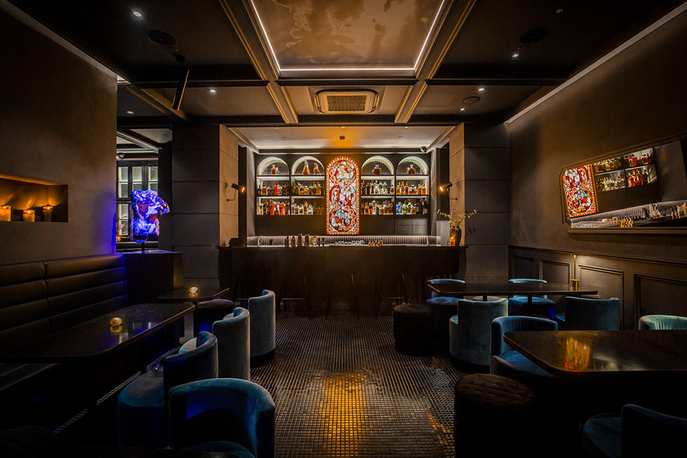 The Broken Dagger is a speakeasy cocktail bar in Shanghai.