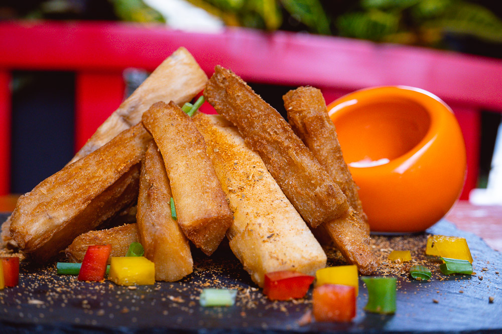 Yuca Fries at Area 501, a Caribbean restaurant and bar in Shanghai. Photo by Rachel Gouk @ Nomfluence.