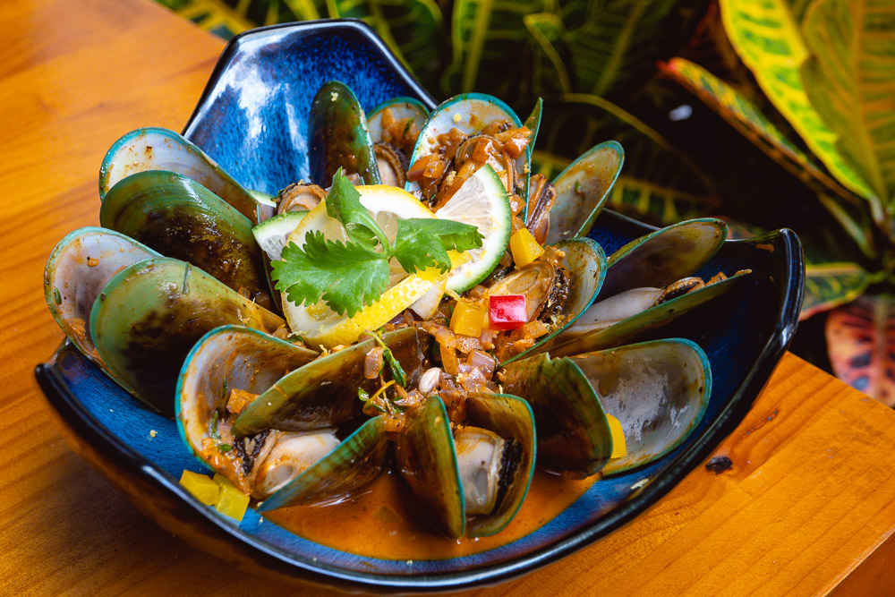 Mussels at Area 501, a Caribbean restaurant and bar in Shanghai. Photo by Rachel Gouk @ Nomfluence.