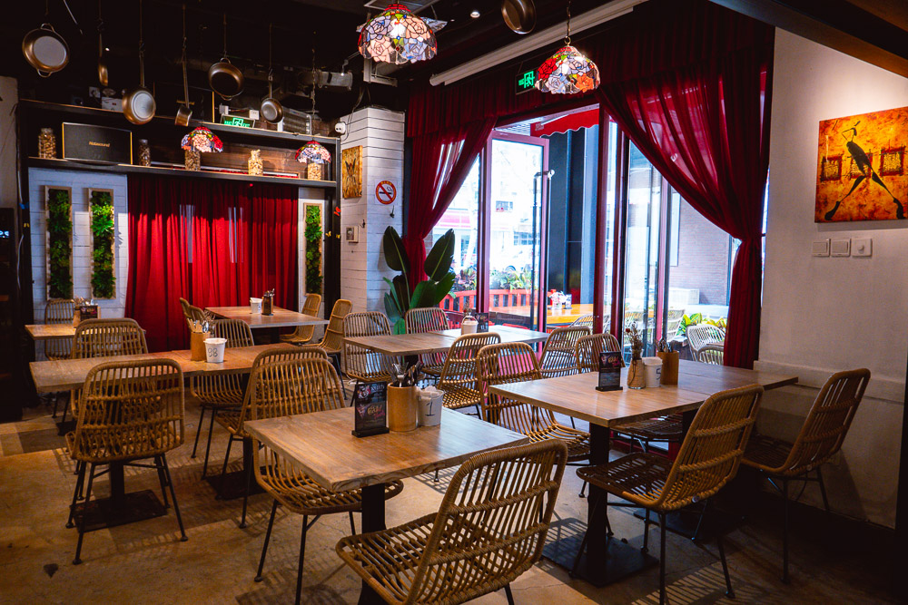 Area 501, a Caribbean restaurant and bar in Shanghai. Photo by Rachel Gouk @ Nomfluence.