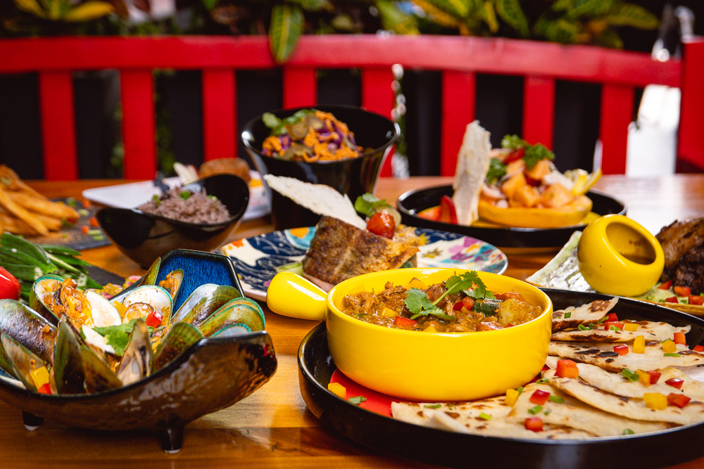 Area 501 is a restaurant in Shanghai serving Caribbean food. Photo by Rachel Gouk