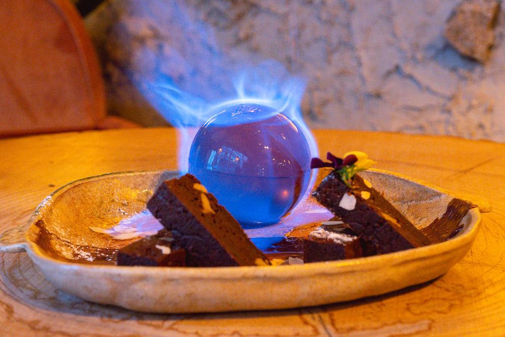 Desserts at Barbarian North Bund, a restaurant in Shanghai. Photo by Rachel Gouk @ Nomfluence.