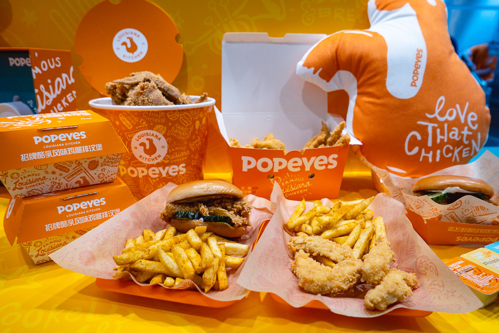 Popeyes opens in Shanghai, the first flagship in China. Photo by Rachel Gouk @ Nomfluence.