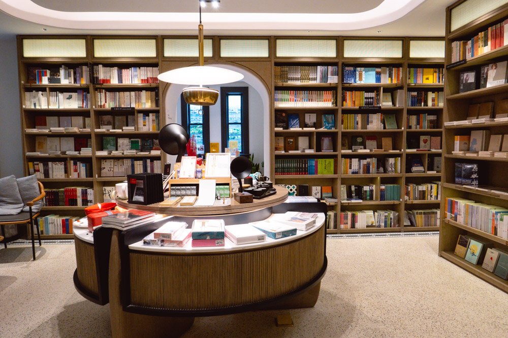 Nice To Meet You bookstore in the historic Blackstone Apartments complex in Shanghai. Photo by Rachel Gouk @ Nomfluence.