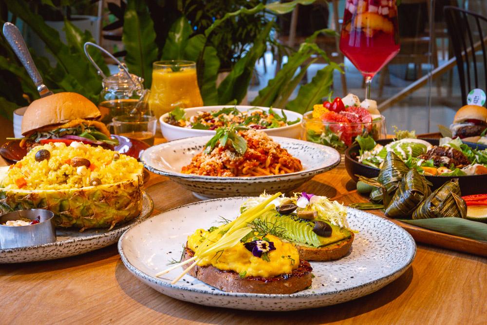 Green Friday is a vegan / plant-based restaurant in Shanghai. Photo by Rachel Gouk @ Nomfluence.