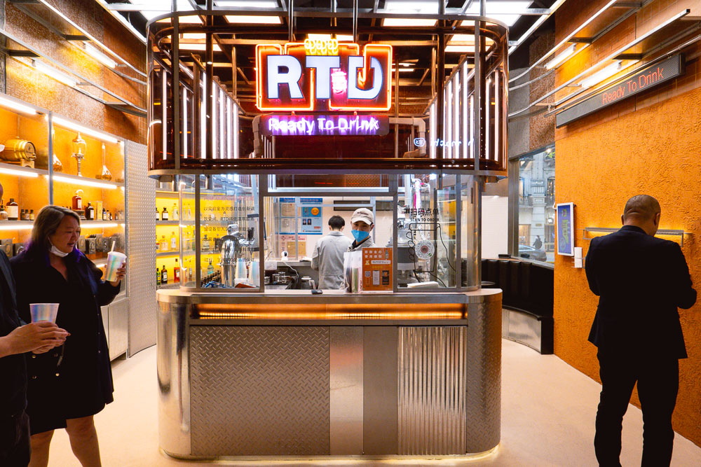 Bars in Shanghai: RTD Ready to Drink. Photo by Rachel Gouk @ Nomfluence.
