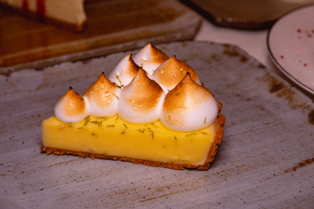 Key lime pie at Rye & Co, a classic American steakhouse in Shanghai. Photo by Rachel Gouk @ Nomfluence.