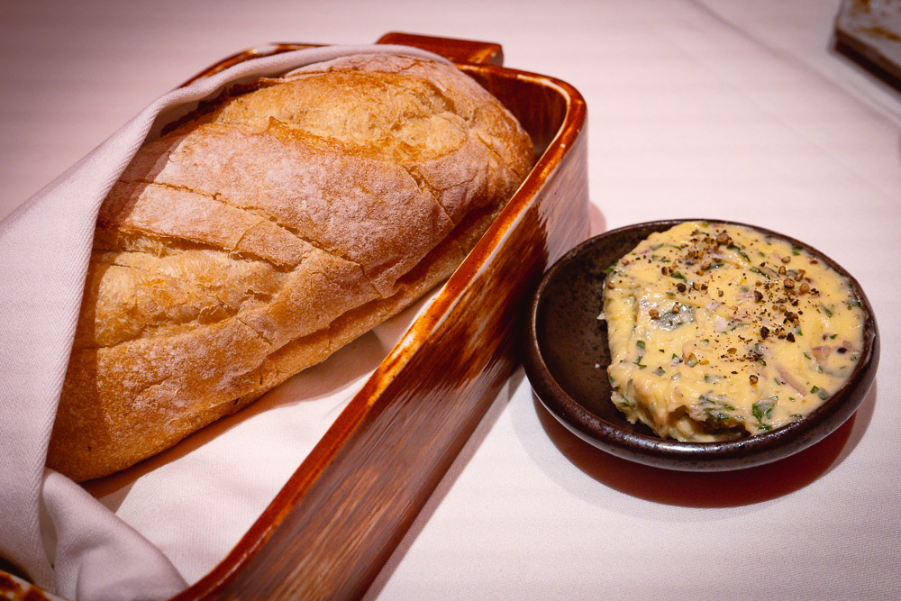 Table bread at Rye & Co, a classic American steakhouse in Shanghai. Photo by Rachel Gouk @ Nomfluence.