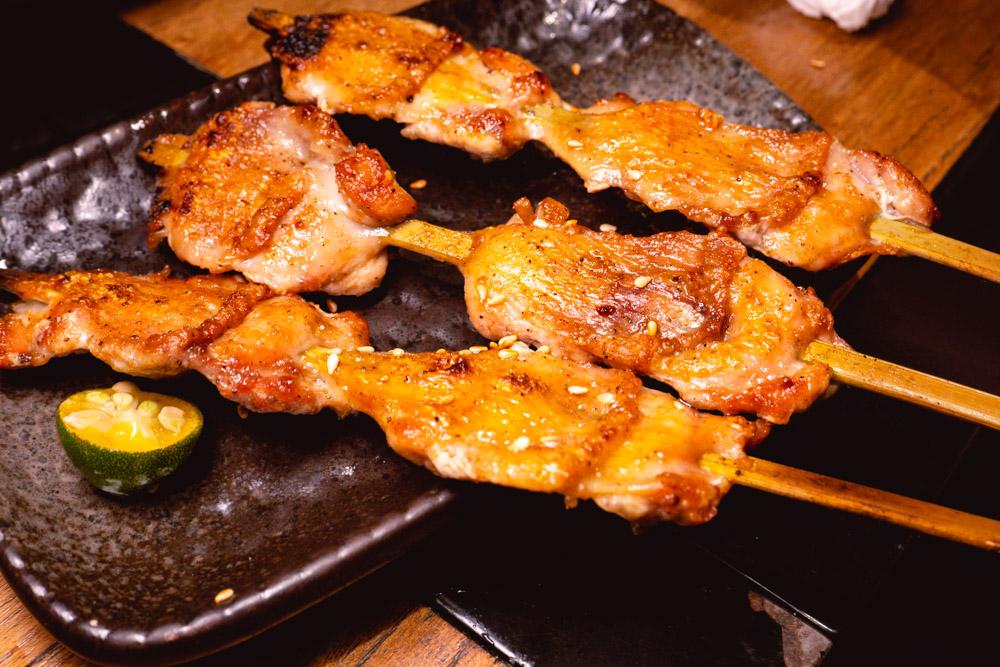 Chicken wings at Yakingtori, a Japanese restaurant in Shanghai that does yakitori. Photo by Rachel Gouk @ Nomfluence.