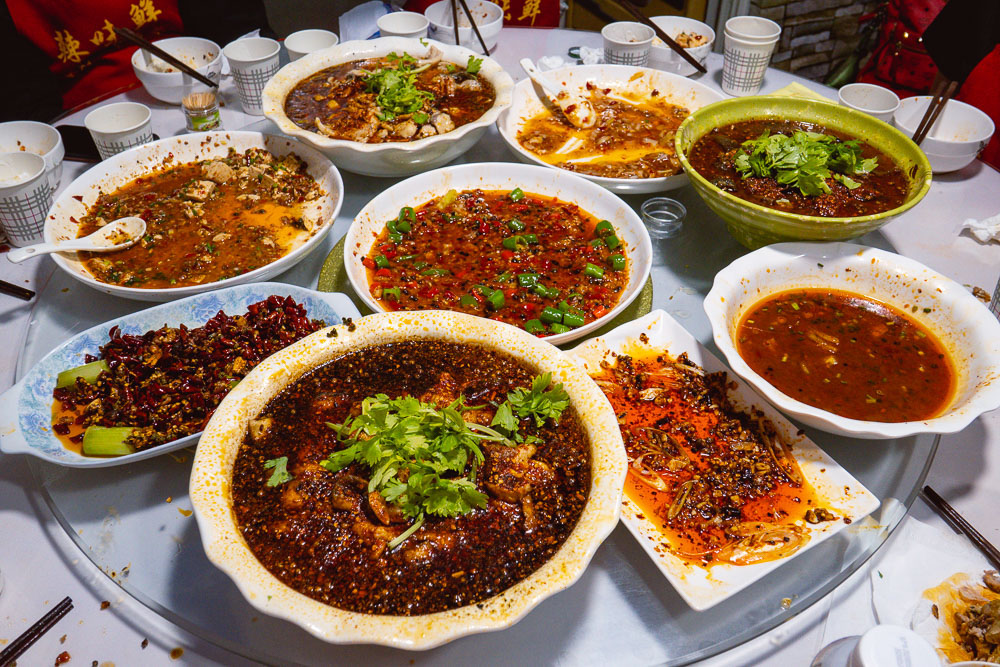 La Wei Xian is a private kitchen serving authentic Sichuan food in Shanghai. Photo by Rachel Gouk @ Nomfluence.