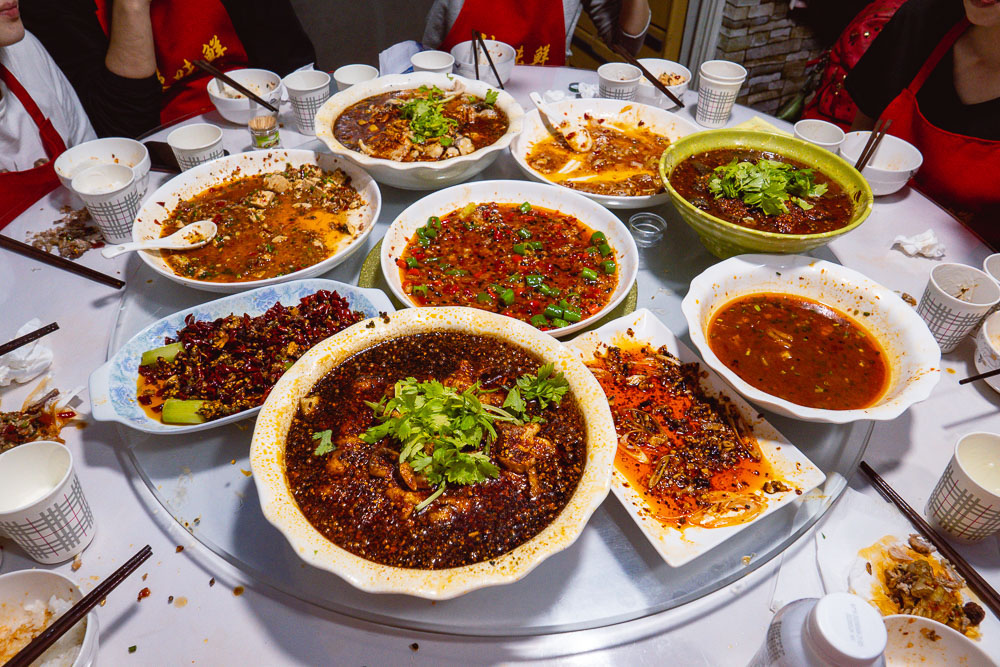 La Wei Xian 辣味鲜, a private kitchen serving authentic Sichuan food in Shanghai. Photo by Rachel Gouk @ Nomfluence.