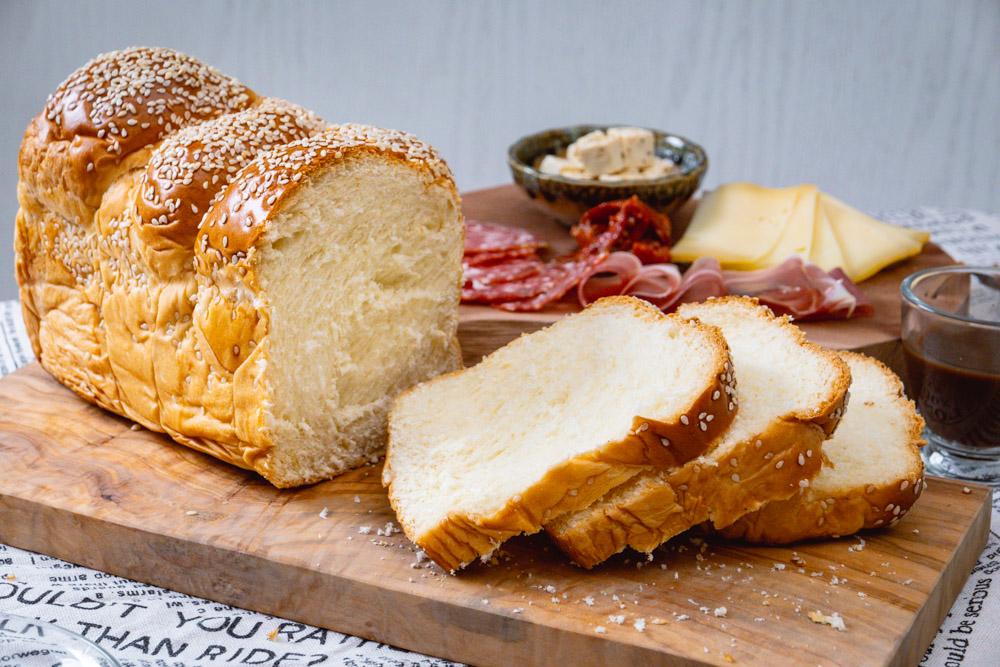 Halla or Challah bread.  Bread delivery in Shanghai: Mediterranean Bakery. Photo by Rachel Gouk @ Nomfluence.