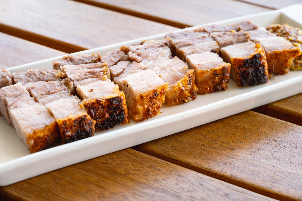Five-spice crispy pork belly by Rachel Gouk @ Nomfluence.