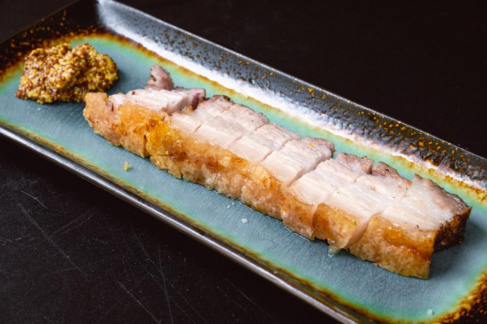 Crispy pork belly. Shanghai-based food blogger Rachel Gouk does a Malaysian sandwich crossover pop-up at Perch, Shanghai. Photo by Rachel Gouk @ Nomfluence.