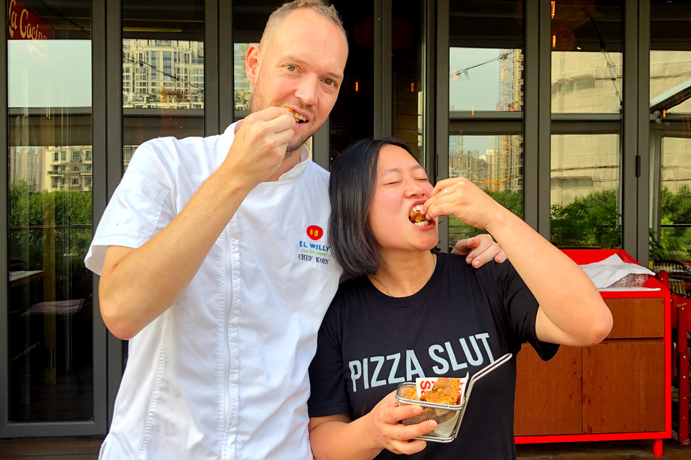 Food blogger Rachel Gouk @ Nomfluence does a Malaysian pop-up dinner at Tomatito.