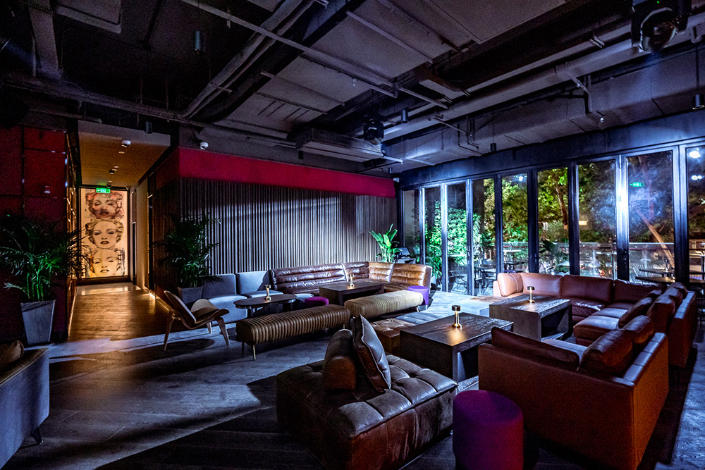 The Apartment is a lounge-bar/nightlife spot located on Huaihai Zhong Lu, Shanghai.