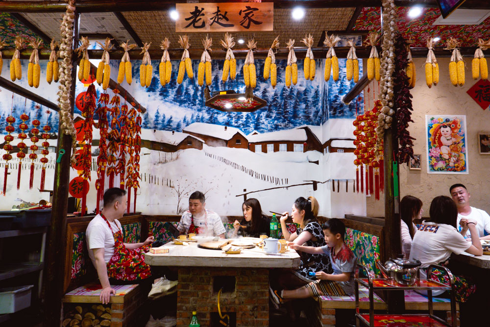"""Yao Ji is a Chinese restaurant in Shanghai that specializes in Dongbei-style Iron Pot Stew """"Tie Guo Dun"""". Photo by Rachel Gouk @ Nomfluence."""