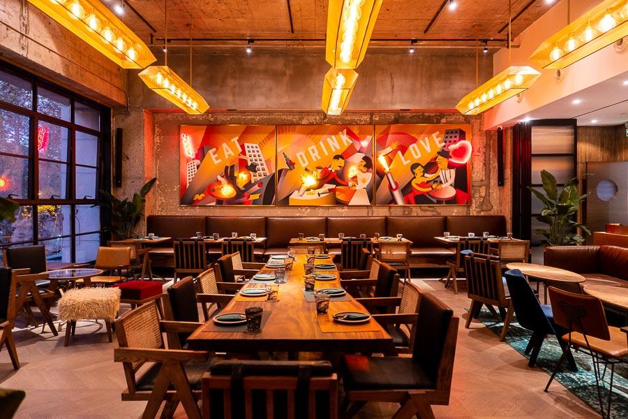 Italo Italian restaurant and bar in Shanghai. Photo by Rachel Gouk @ Nomfluence
