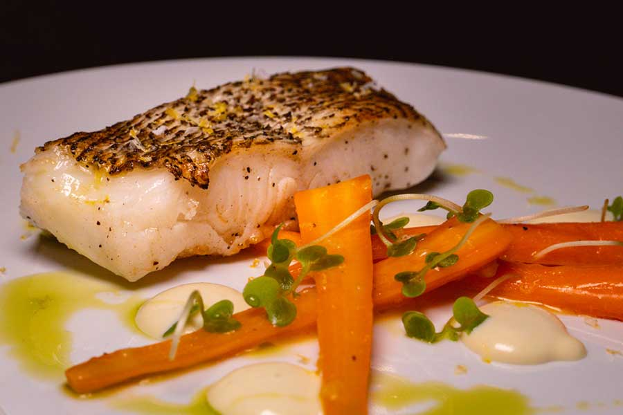 Cod at La Scala, an Italian restaurant at the Sukhothai Shanghai. Photo by Rachel Gouk @ Nomfluence.