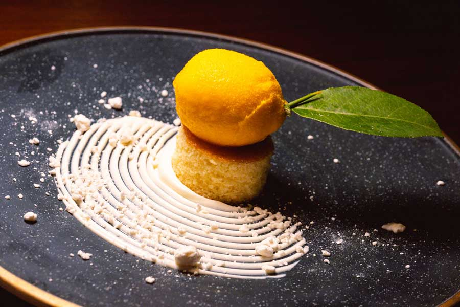 Dessert at La Scala, an Italian restaurant at the Sukhothai Shanghai. Photo by Rachel Gouk @ Nomfluence.
