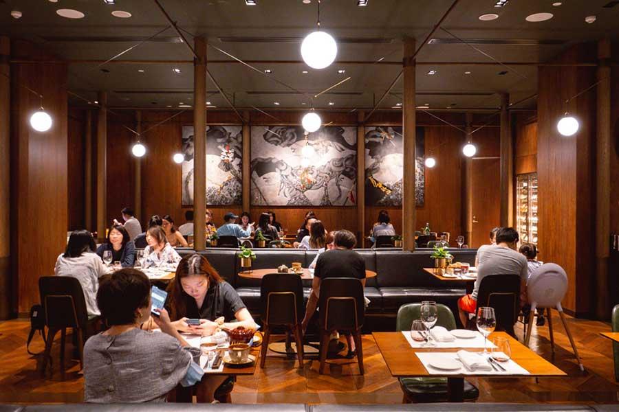La Scala, an Italian restaurant at the Sukhothai Shanghai. Photo by Rachel Gouk @ Nomfluence.