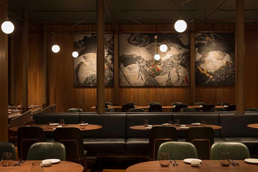 La Scala is an Italian restaurant in Shanghai.