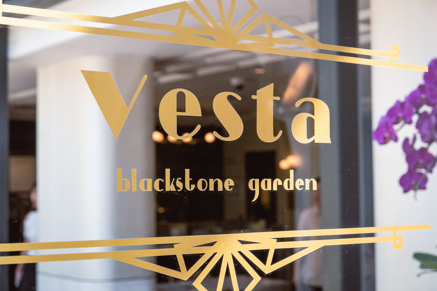 Vesta Blackstone Garden is an all-day brasserie in Shanghai, located in the historic Blackstone Apartments complex. Photo by Rachel Gouk @ Nomfluence.