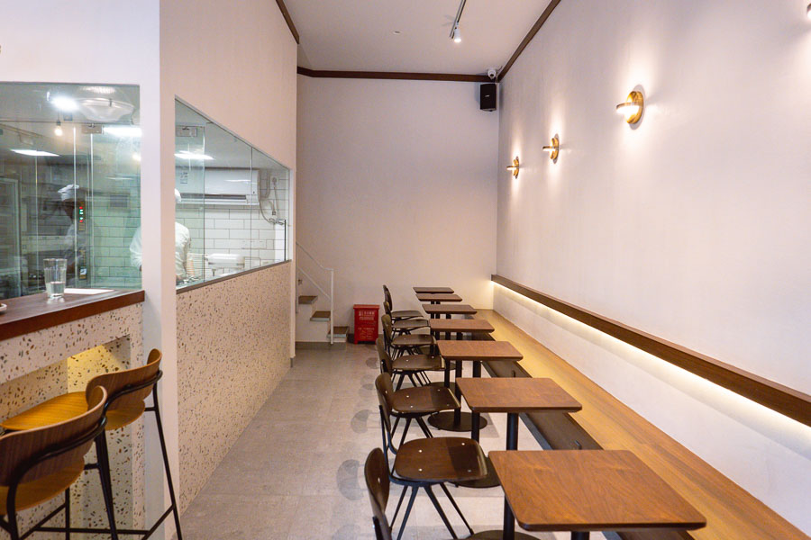 Dosage is a bakery and wine bar in Shanghai with a curated wine list of 40+ labels. Photo by Rachel Gouk @ Nomfluence.