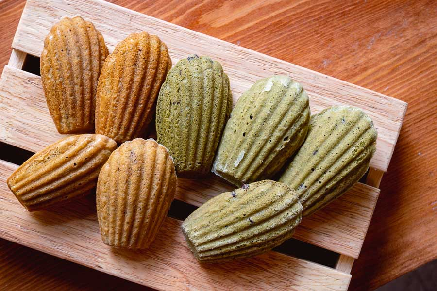 Madeleines at Dosage, a bakery and wine bar in Shanghai with a curated wine list of 40+ labels. Photo by Rachel Gouk @ Nomfluence.