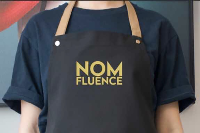 Limited edition Nomfluence aprons.